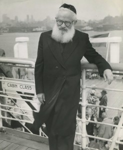 Yitzhak Halevi Herzog, first Chief Rabbi both of the Irish Free State and the State of Israel